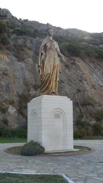 Meryem Ana Heykeli Meryem Ana Evi Dilek Duvarı